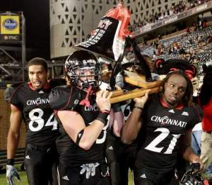 Courtesy of gobearcats.com